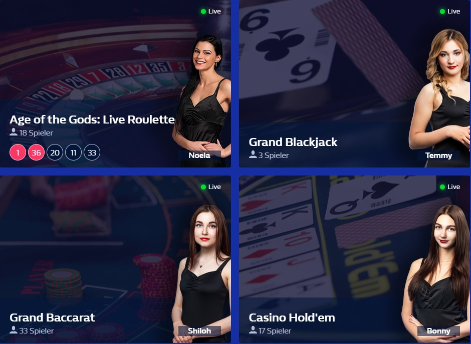 william hill live casino